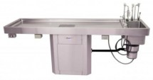 Autopsy tables with Elevation and Bariatric Options
