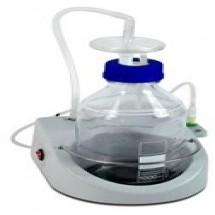 FTA-1  Aspirator all in one, integrated pump, trap flask 1L, hydrophobic filter 500 mbar
