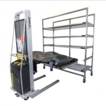 Guardian Rack Quick Deploy Morgue Rack & Body Tray System